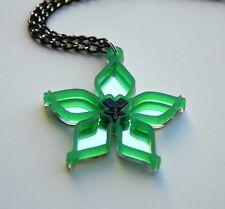 Kingdom Hearts Wayfinder Green Acrylic Necklace