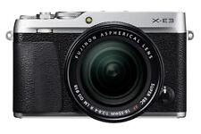 Fujifilm x-e3 Argento + XF 18-55 mm sistema Fotocamera Set con obiettivo ** modello demo **