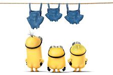 FUNNY MINIONS NAKED REFRIGERATOR SCHOOL LOCKER TOOL BOX MAGNET CHRISTMAS