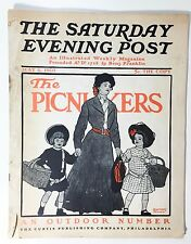 The Saturday Evening Post The Picnickers Magazine May 6, 1905