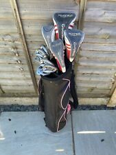 SUPERB SET OF LADIES TAYLORMADE GOLF CLUBS, SEE DESCRIPTION.