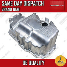 VW GOLF V, PASSAT B6, POLO 9N, 1.4, 1.6 OIL SUMP PAN WITH BORE 02>ON *BRAND NEW*