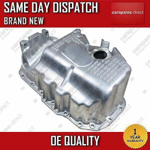 VW GOLF V, POLO 9N, 1.4, 1.6 OIL SUMP PAN WITH BORE 02>ON *BRAND NEW*