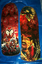 SET OF 2 RAMP SKATE DECKS KLIMAX CUSTOM GREAT ART WORK  SKATE  BOARDS SKATERS