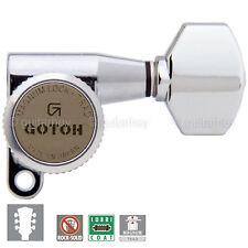 NEW Gotoh SG360-07 MGT Locking Tuners L3+R3 Tuning Keys 3x3 - CHROME