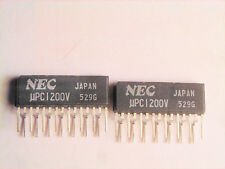 "UPC1200V  ""Original"" NEC  15P ZIP IC  2  pcs"