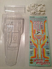 Tamiya Hornet Clear Body w/ Decals and Driver (Z Part) 9805020 0225001