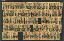 Germany  in  Turkey  #46   81 stamps used  catalog $1,053.00       RL0625