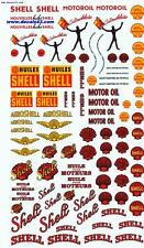 decals decalcomanie  divers dessin ancien shell huiles 1/43