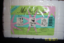 2LB. mold your own soap with moisturizing white glycerin