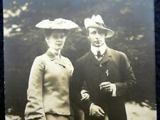 OLD PPC: WILHELM VON PREUSSEN & CROWNPRINCESS CECILIE