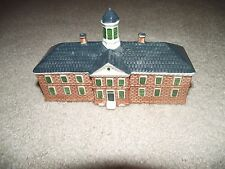 "Royal Goedewaagen Delft Williamsburg ""The Public Hospital"" Minature Holland!"