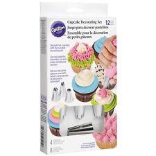 Kit decoración Cupcake Wilton Set 12pcs set reposteria tartas icing decorating