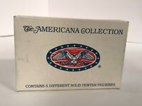 Liberty Falls-Americana Collection- AH47-Pewter Village People-Figurine Set