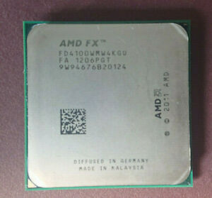 AMD FX 4100 - 3,6 GHz Quad-Core CPU - AM3+ Socket