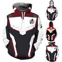 Avengers Endgame Advanced Tech Hoodie Men Hooded Jacket 3D Print Cosplay Costume