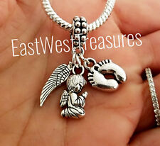My Junge Sohn Enkel Bruder Engel Flügel Anhänger für Armband Necklace-European