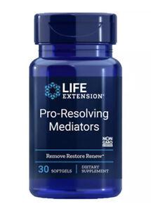Life Extension Pro-Resolving Mediators 30gels hydroxydocosahexaenoic acid
