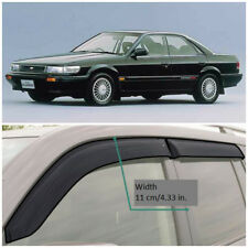 NE15887 Window Visors Vent Wide Deflectors For Nissan Bluebird U12 1987-1991