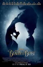 "DISNEY'S BEAUTY AND THE BEAST 11""x17"" Original Promo Movie Poster MINT 2017 Rare"