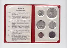 1970 Royal Australian Mint Coin Set UNC Uncirculated H-28