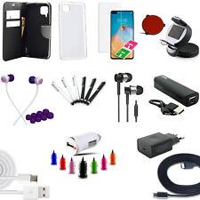 21 teiliges Huawei P40 Lite Zubehör Set Paket Tasche Powerbank Charger Logitech