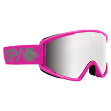 Spy Crusher Elite Goggles Ski Snowboard Snow Snowmobile Gear Bubble Gum 2020 NEW