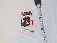 Itsy Bitsy Stocking Ornament name Jenna MINI Ganz personalized Christmas gift