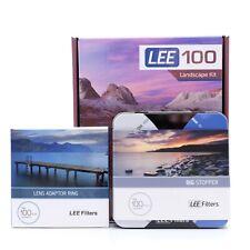 Lee Filters LEE100 Landscape Kit 0.6 ND Medium Grad + 77mm adapter & Big Stopper
