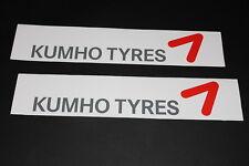 Kumho Tires Aufkleber Sticker Decal Kleber Logo Schriftzug Bapperl Autocollant G