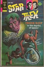 "STAR TREK TOS #39 GOLD KEY 08/76 ""PROPHET OF PEACE"" PAINTED COVER HIGH GRADE VF+"