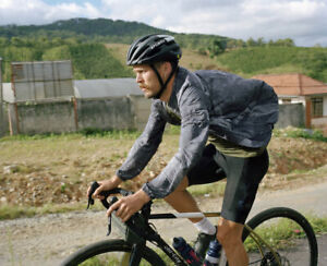 Rapha Men's Outskirts Tie Dye Black Wind Jacket - Small - BNWT