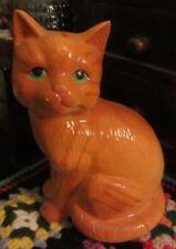 Ceramic Vintage Ginger Cat Ornament