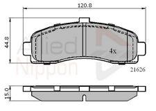Allied Nippon Front Brake Pad Set ADB0508  - BRAND NEW - 5 YEAR WARRANTY
