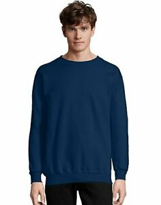 Hanes Ultimate Sweatshirt Crewneck Cotton Heavyweight Adult Fleece S to 3XL Mens