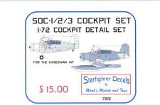 Starfighter Decals 1/72 CURTISS SOC SEAGULL Resin Cockpit Detail Set
