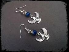 *Isis Egyptian goddess earrings with lapis lazuli* pagan, magic, Wiccan