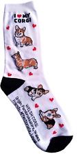 I Love My Crogi (50809) Women Size Socks