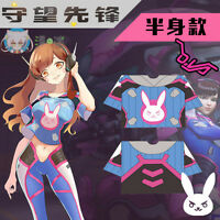 Cosplay Game Overwatch OW D.Va Cute Unisex Casual Short Sleeve T-Shirt Tops