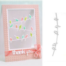 5 Little Birds Steel Cutting Dies Stencil DIY Cards Scrapbook Diary Gift Craft