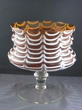 schöne Murano-glas Vase Schale ca.50/60er Jahre