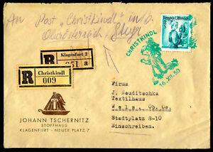 Zeilinger 9, R-Christkindl 16.12.1950