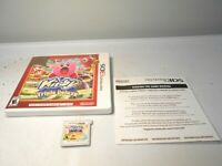 Kirby Triple Deluxe: Nintendo Selects (Nintendo 3DS) w/case & manual 2ds xl game