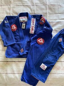 Gracie Barra Youth Blue Gi woth pants Y5