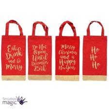 Bolsas de navidad para regalos de navidad en color principal rojo