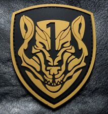 Medal of Honor Wolfpack Moh Patch (HOOK-3D PVC Rubber-PVM1)