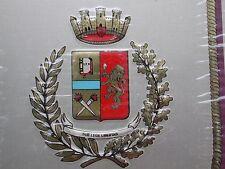 TARGA CREST PLACCA SILVER PLATED 1000/000 POLIZIA DI STATO REPUBBLICA ITALIANA 2