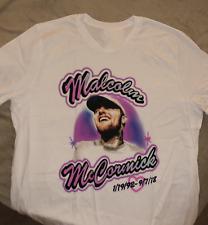 New Mac Miller Tee Concert Music Men White T-Shirt Size S-234XL AV645