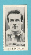 RUGBY  -  D. C. THOMSON - SCARCE  RUGBY  CARD  -  STEVENSON OF LEEDS -  1958