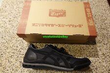 NEW Asics Onitsuka Tiger Ultimate 81 Black & Black Tennis Shoes D00FJ US 10